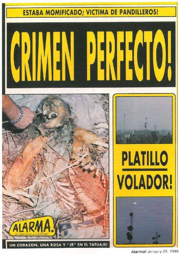 Crónicas De Banqueta On Twitter Alarma Fue Una Revista Mexicana