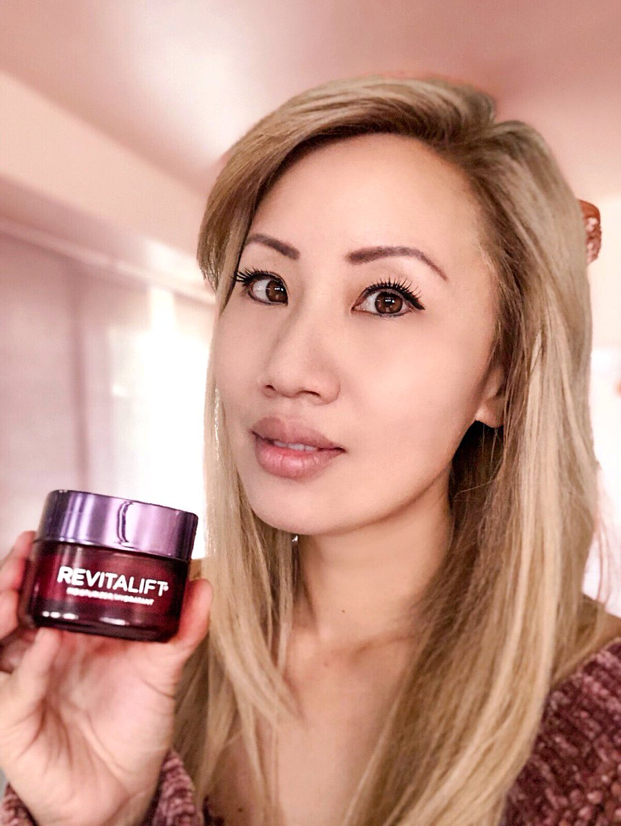 I ve been using  LOrealParisUSA Revitalift day cream for the past 14 days  and my skin is glowing!  AD No need for expensive anti-aging creams anymore! 93acf1b11