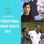 Image for the Tweet beginning: Happy #HumanRightsDay! Today, we are