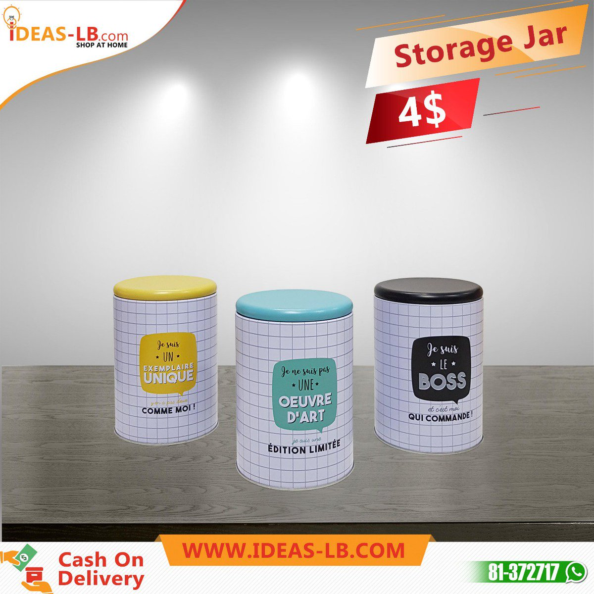 a1a2ad08e19 Buy high quality storage boxes and jars at http   ideas-lb.com  glassjars   onlineshopping  storagejars  shopfromhome  fresh  durable  kitchenitems   Storage ...
