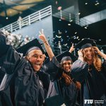 Image for the Tweet beginning: 🎓Congratulations, #FIUGrad! You did it!