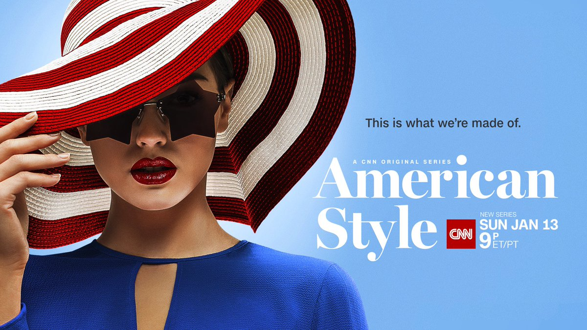 The new @CNNOriginals #AmericanStyle, about the history of American fashion, debuts Sunday, Jan. 13, at 9pm ET/PT. Full release here: https://t.co/cuWsq5YDfI