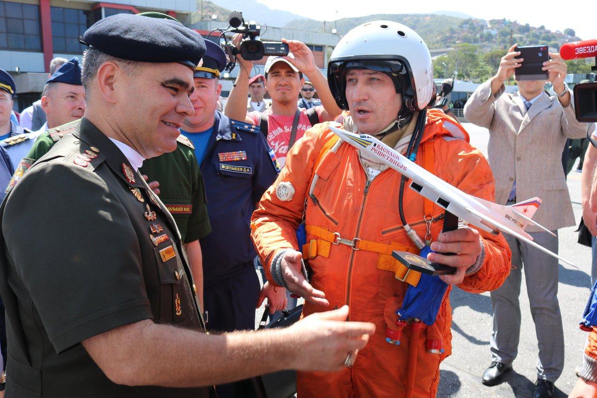 Venezuela prepara maniobra aérea con Rusia para fortalecer su capacidad de defensa DuEkE2cXgAAcMHf