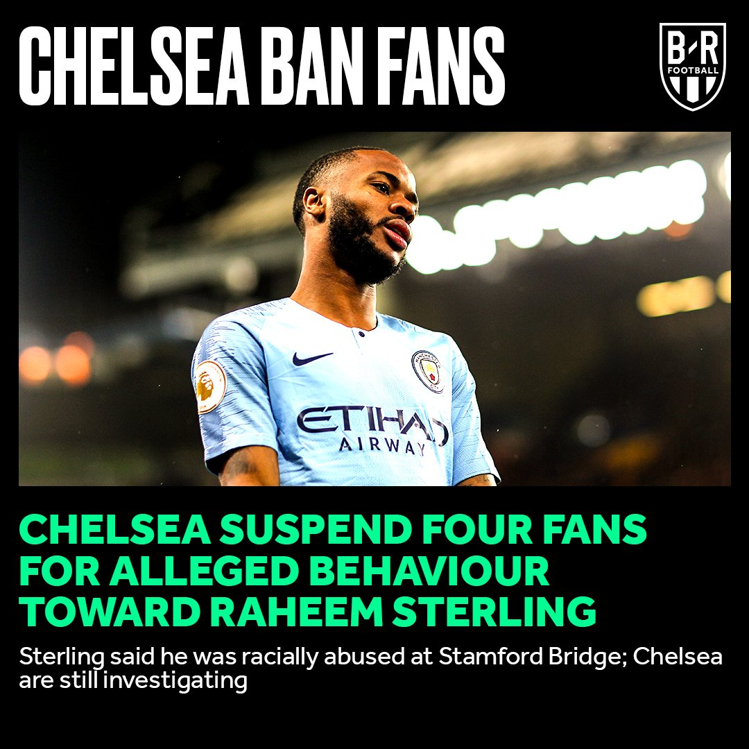Chelsea have banned four fans from attending matches.
