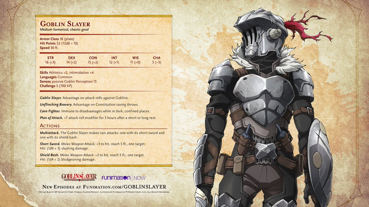 #Goblinslayer Latest News Trends Updates Images - FUNimation