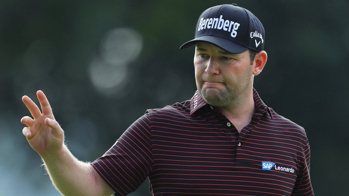 At the end of the year, the top 50 in the OWGR earn an invite to #TheMasters. Branden Grace entered the #SAOpen ranked No. 50 and picked a great time to have his first top-10 finish since the BMW PGA Championship. Photo