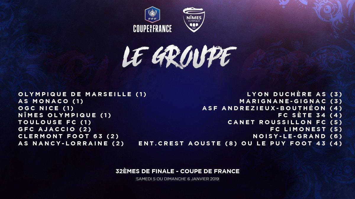 COUPE DE FRANCE -. ÉDITION 2018-2019. DuEqnsaW0AAcUXD