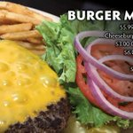 Mondays are better with Burgers & MNF at DJ's Dugout! Watch Vikings vs Seahawks at 7:15pm with our fantastic Monday Specials!