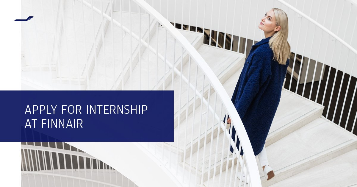 Apply to Finnair #internship program! We're looking for #trainees to develop their talent in international #aviation industry. If you are a development-minded student or recently graduated, apply by 18.12. #trainee #recruitment ow.ly/6qqc30mVvkl