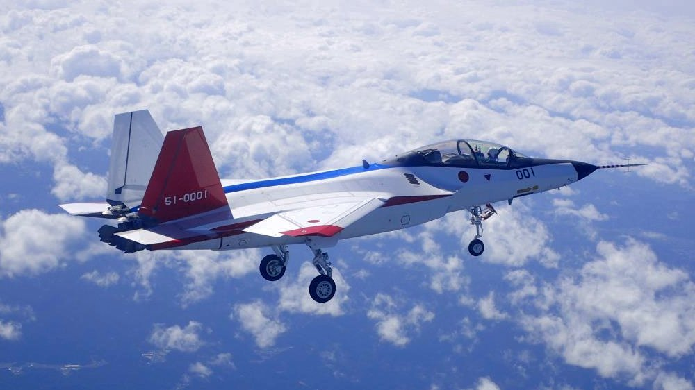 مشروع مقاتله الشبح Mitsubishi X-2 Shinshin اليابانيه على حافه الفشل واليابان تبحث عن بديل  DuExhb8V4AAcsiD