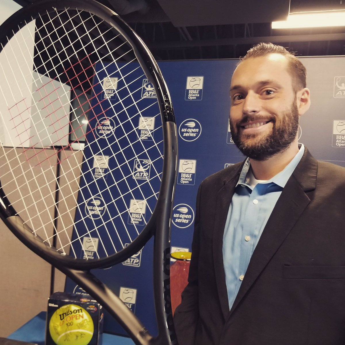 Join us in welcoming our new ticketing manager, Trevor Allison, to the #AtlantaOpen team!