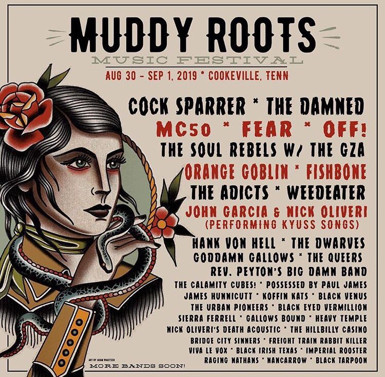 First trip back to the USA since the launch for FOREVER in 2017. For more info: http://muddyrootsmusic.com.