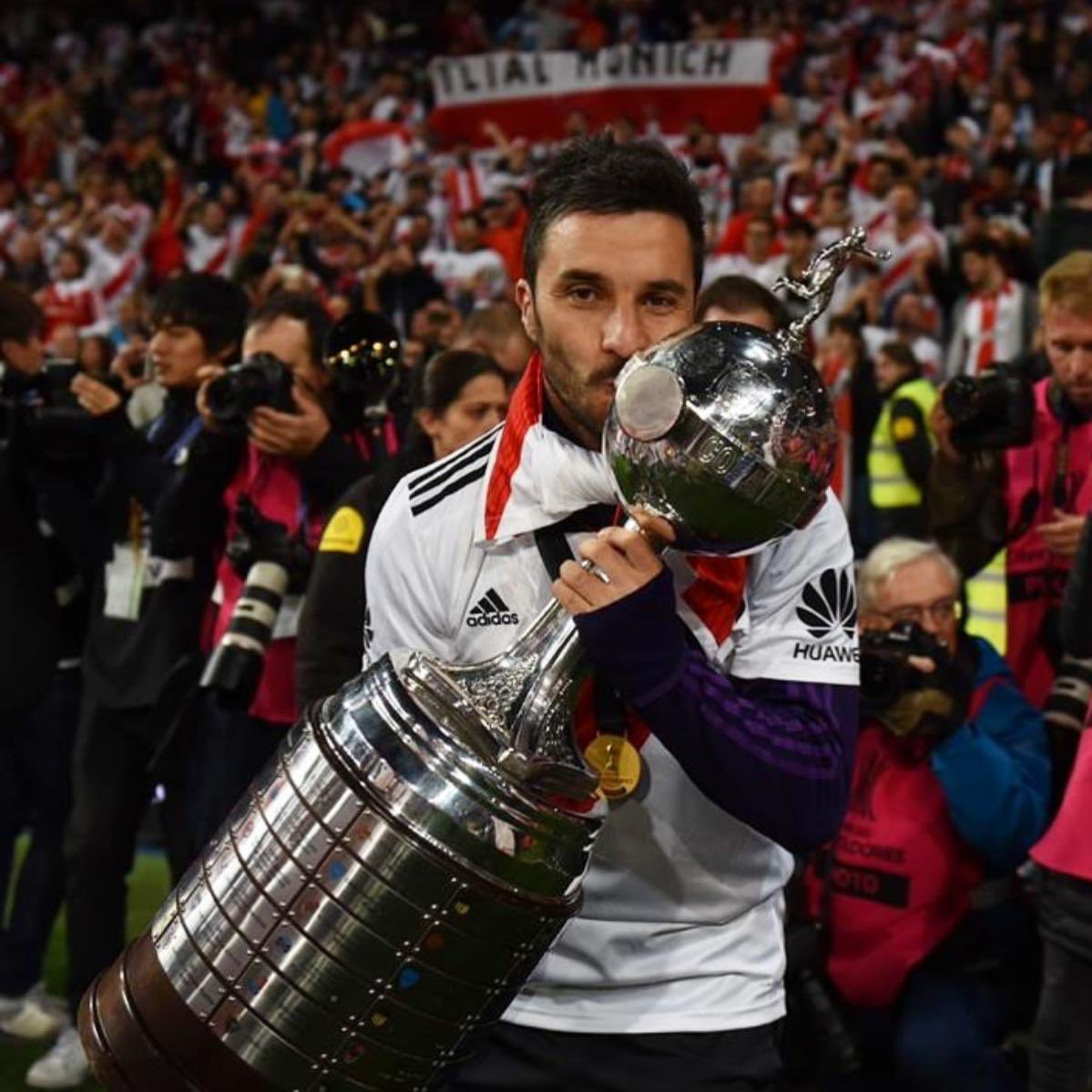 Nacho Scocco's photo on #CopaLibertadores