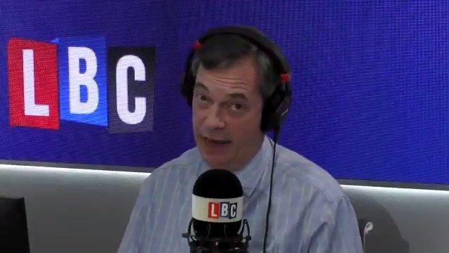 Nigel Farage on Twitter