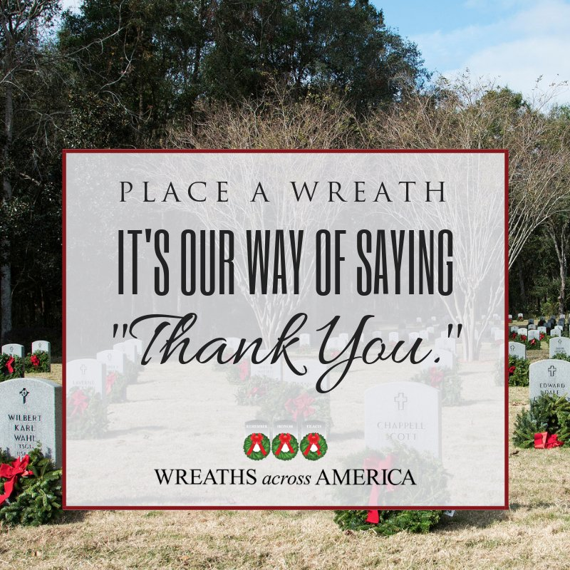 Looking forward to being a part of this special day with the Task Force Dagger group. #WreathsAcrossAmerica
