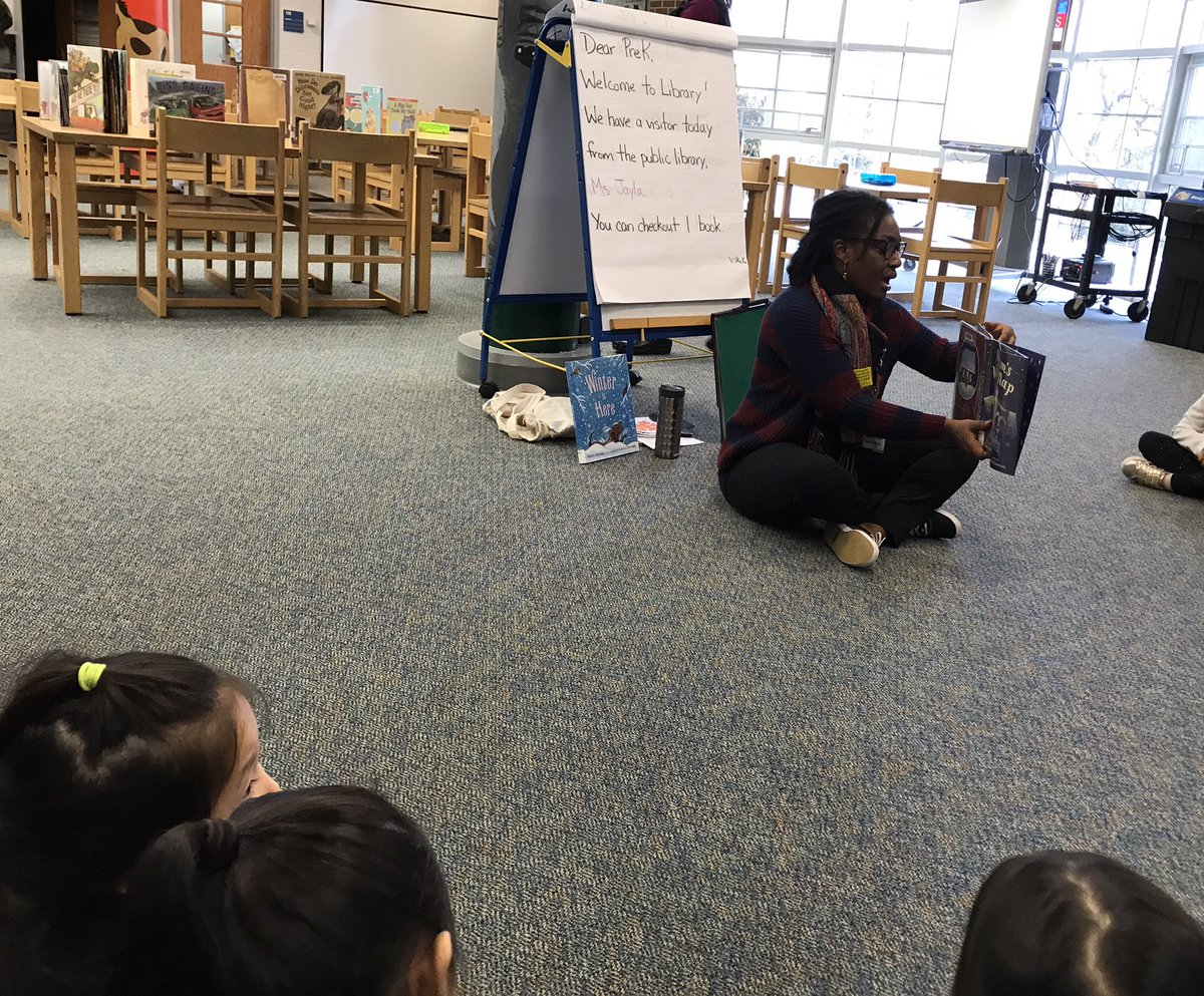 Thank you <a target='_blank' href='http://twitter.com/APL_Jayla'>@APL_Jayla</a> for joining our VPI program this morning!! The students loved the stories you shared about ❄️⛄️! <a target='_blank' href='http://twitter.com/APSLibrarians'>@APSLibrarians</a> <a target='_blank' href='https://t.co/ZR7Qp1g6Vw'>https://t.co/ZR7Qp1g6Vw</a>