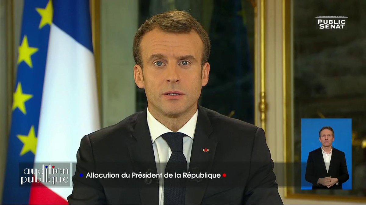 "Image for the Tweet beginning: - @EmmanuelMacron : ""Nous sommes"