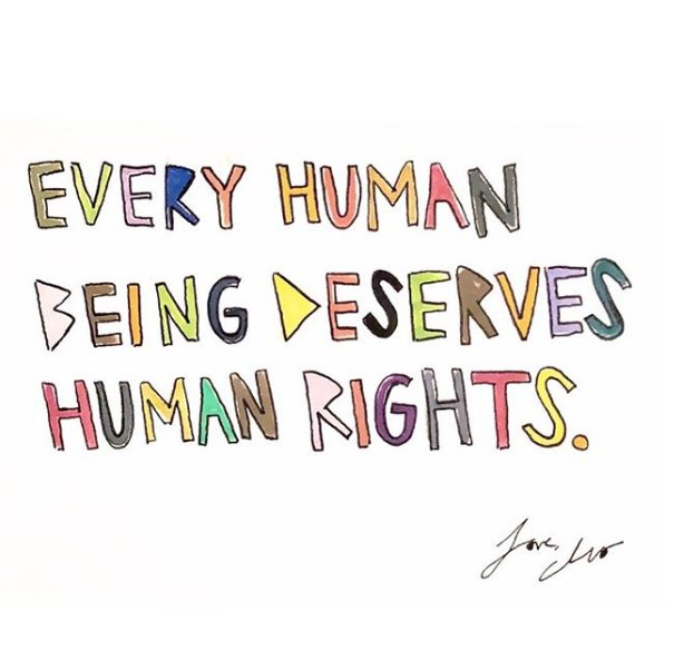 We're human. That's the thing that unites us all. 📸: cleowade #HumanRightsDay