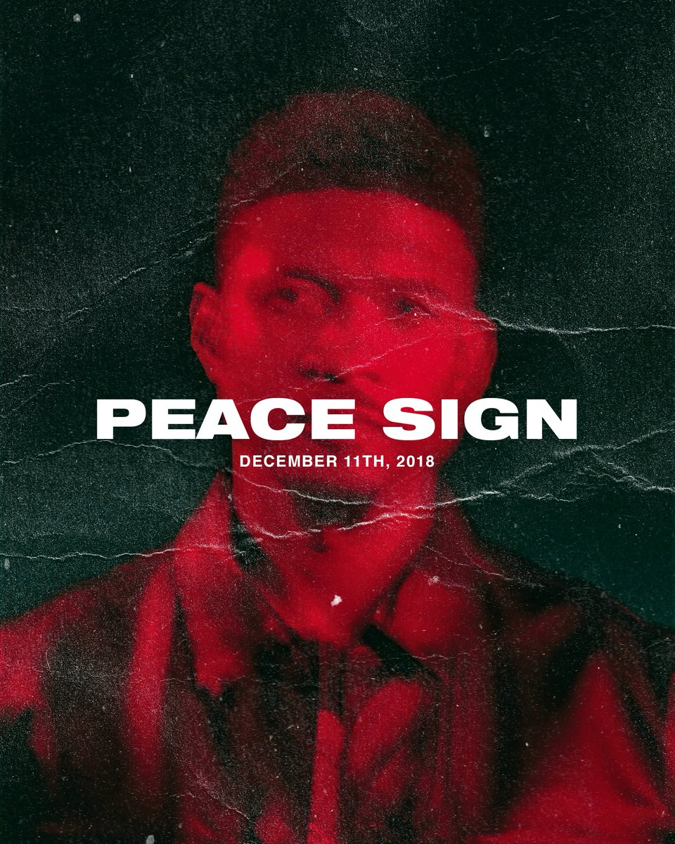 Peace Sign video tomorrow https://t.co/8orLlpRwH8