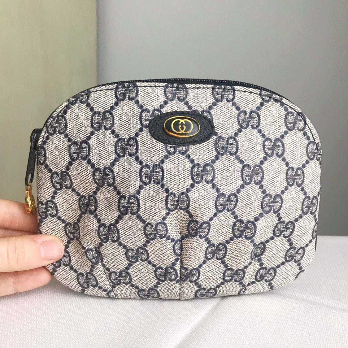 141494e4f8042d #GUCCI Vintage Accessory Collection Pouch Clutch/ Unisex Case #Makeup  Cosmetic Toiletry Pouch https://etsy.me/2UEdV0m #etsy #etsyseller  #vintagegucci ...