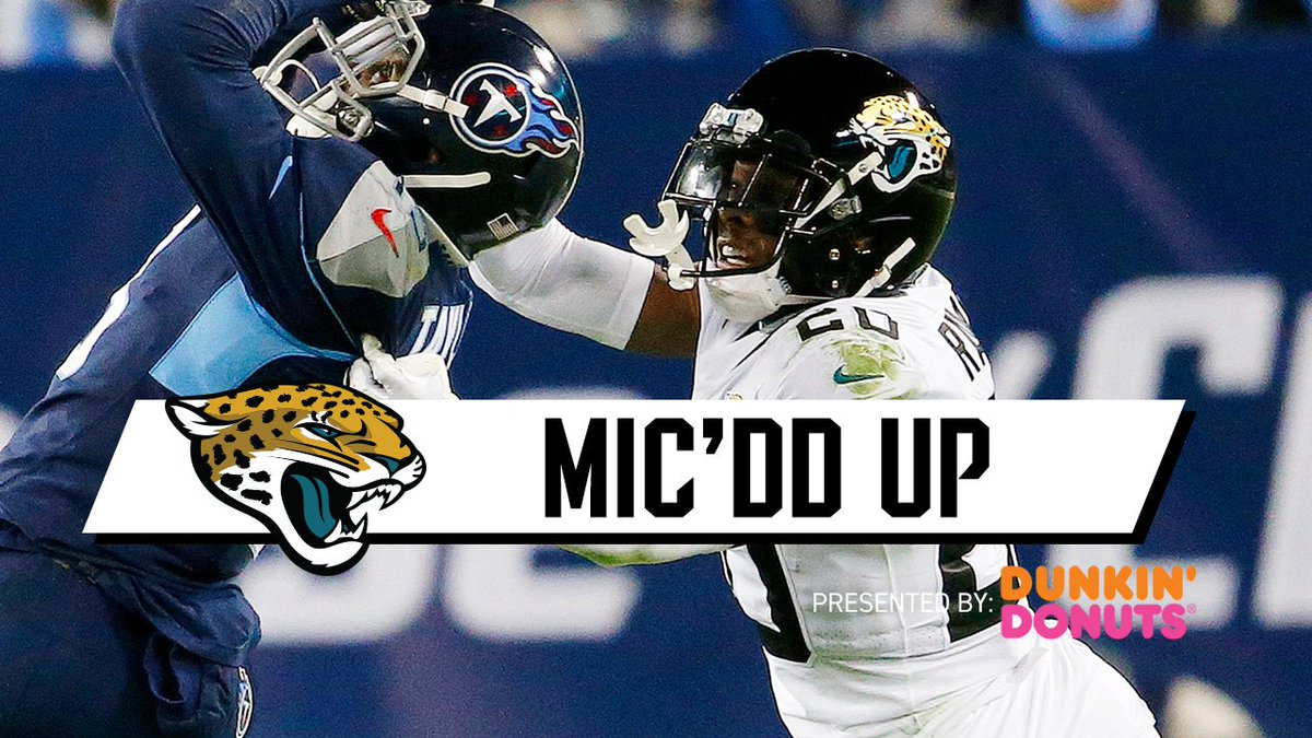 I would pay irresponsible amounts of money to watch Jaguars games broadcast with live audio of Jalen Ramsey mic'd up.