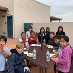 Image for the Tweet beginning: Lunch with the Principal incentive.