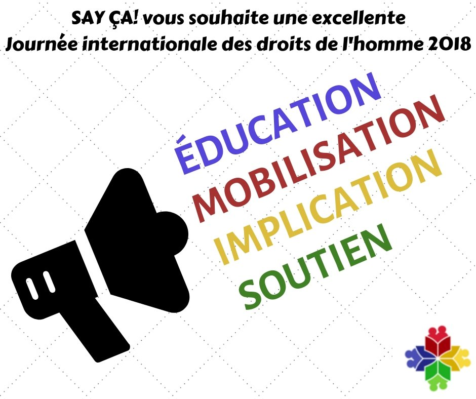 test Twitter Media - [JOURNÉE INTERNATIONALE DES DROITS DE L'HOMME]  [HUMAN RIGHTS DAY] ✅ Education ✅ Mobilization ✅ Implication ✅ Support Let's stay focused!  #10decembre #10December #HumanRightsDay2018 #journeedesDroitsdelhomme https://t.co/60hIwf1osJ