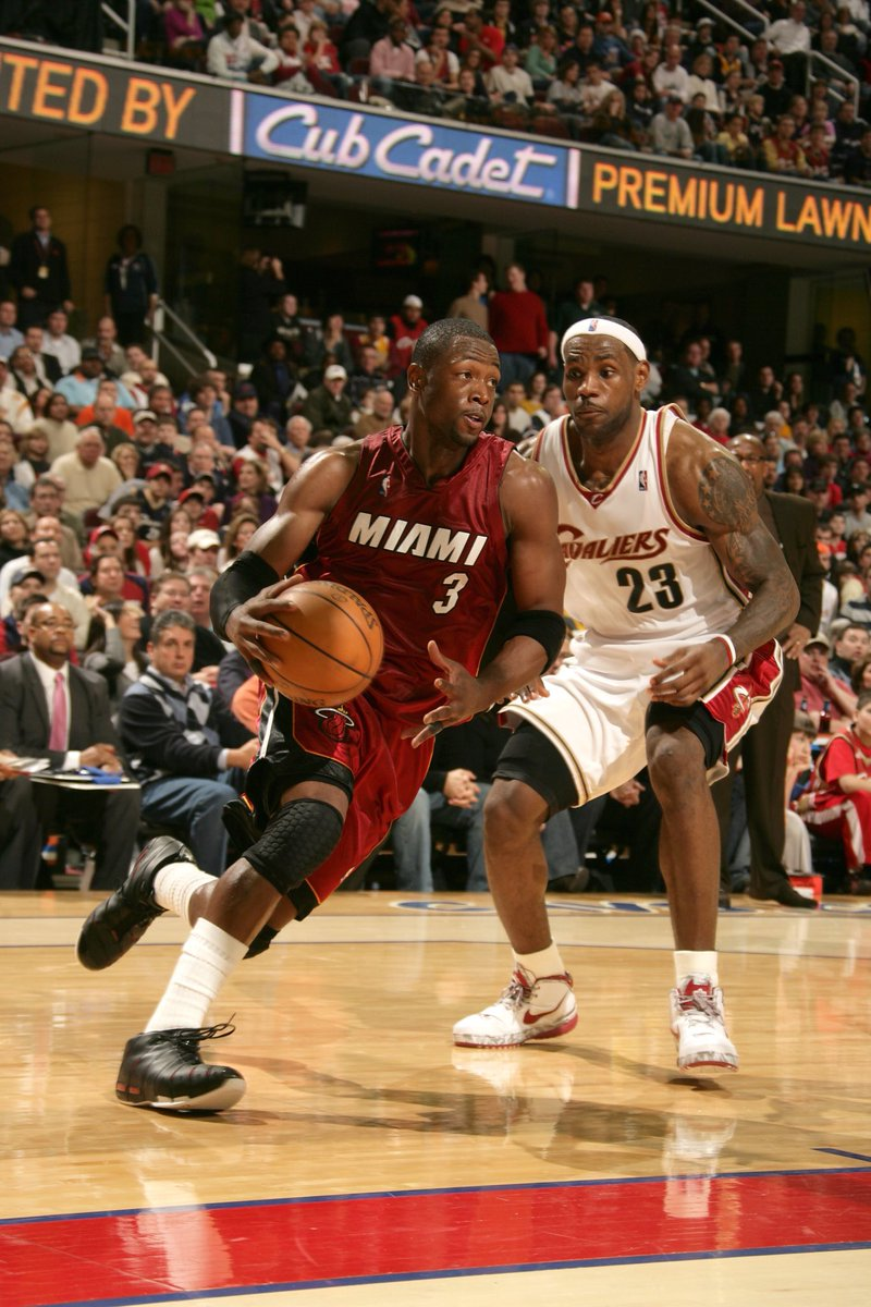 16 years of memories. Tonight @DwyaneWade and @KingJames likely share the court for the final time. #OneLastDance