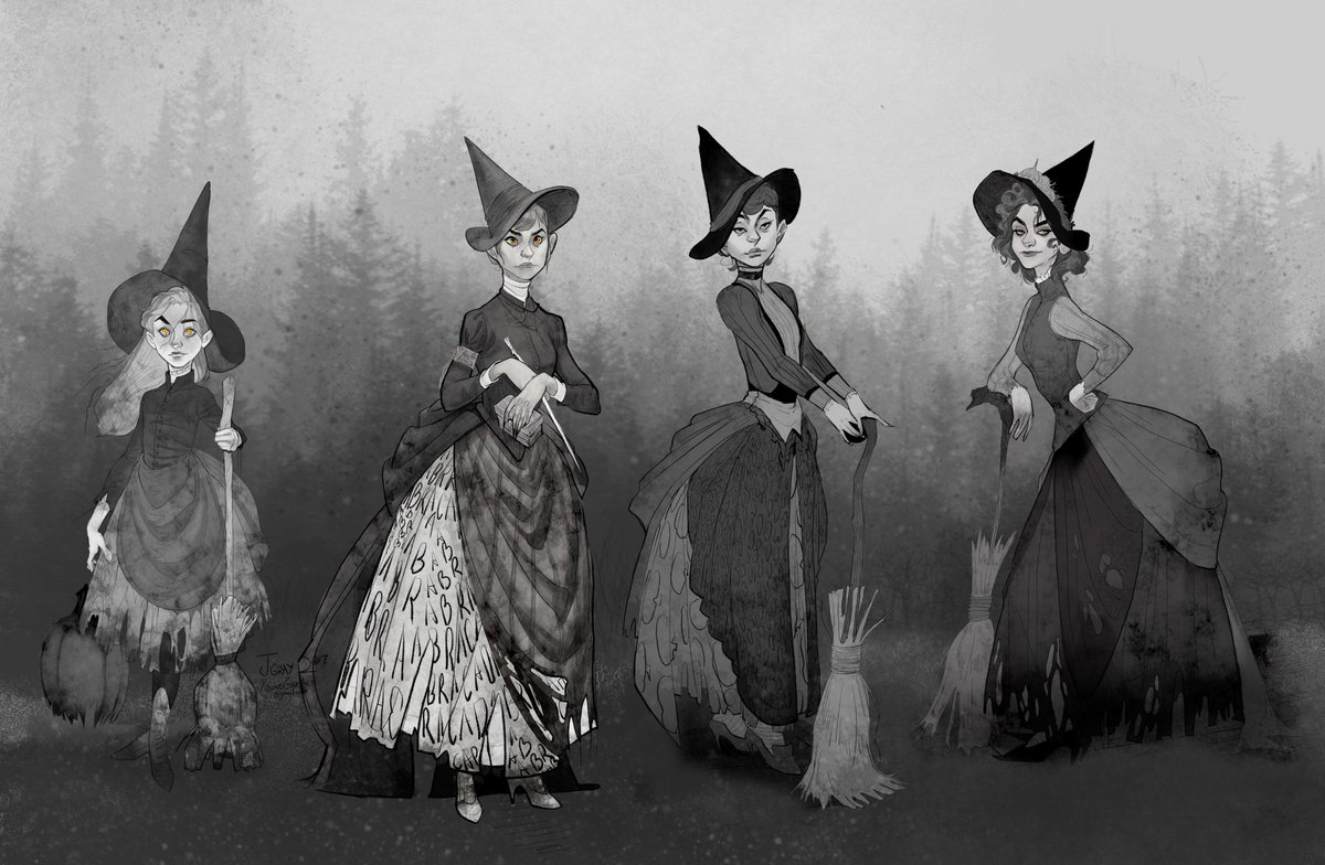 Victorian Witch Coven #witch #Halloween #witchcraft #Magic
