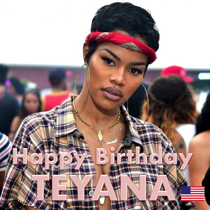 Happy 28th Birthday to the beautiful and multitalented #TeyanaTaylor! @TEYANATAYLOR  ❤️🇺🇸🎶🎤🎂🎉🎁🎈💐😍🌟🎇  https://t.co/YYI8QRANr5