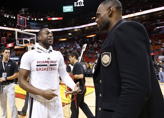 LeBron reflected on his time playing with and against D Wade ahead of their final time sharing the court. https://t.co/Rkz9H7NFzX