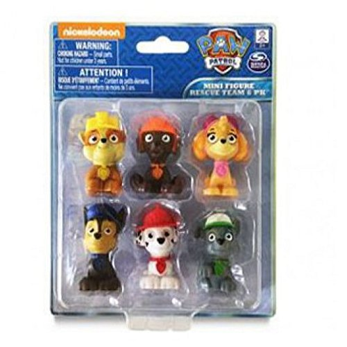 Spin Master Paw Patrol Figures 6 Piece Set Only $9.18 Shipped! -  #PawPatrolFigures
