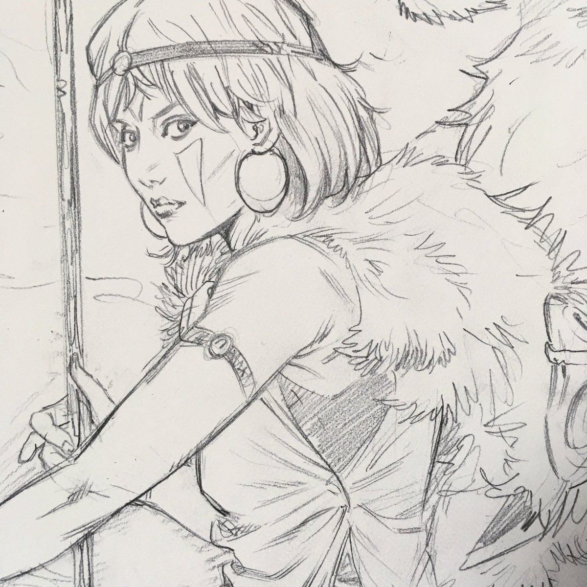 Ryan Kelly On Twitter Pencils For A Commission San Princess