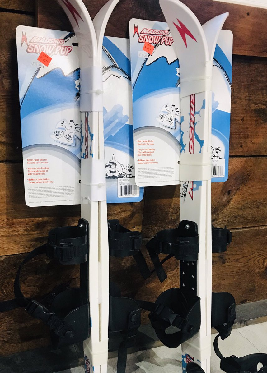 70d94dbd87d ... ones out on skis, even if it's just in the backyard. No ski boots  required, they simply strap on. We also have adult skis from @MadshusRacing  and ...