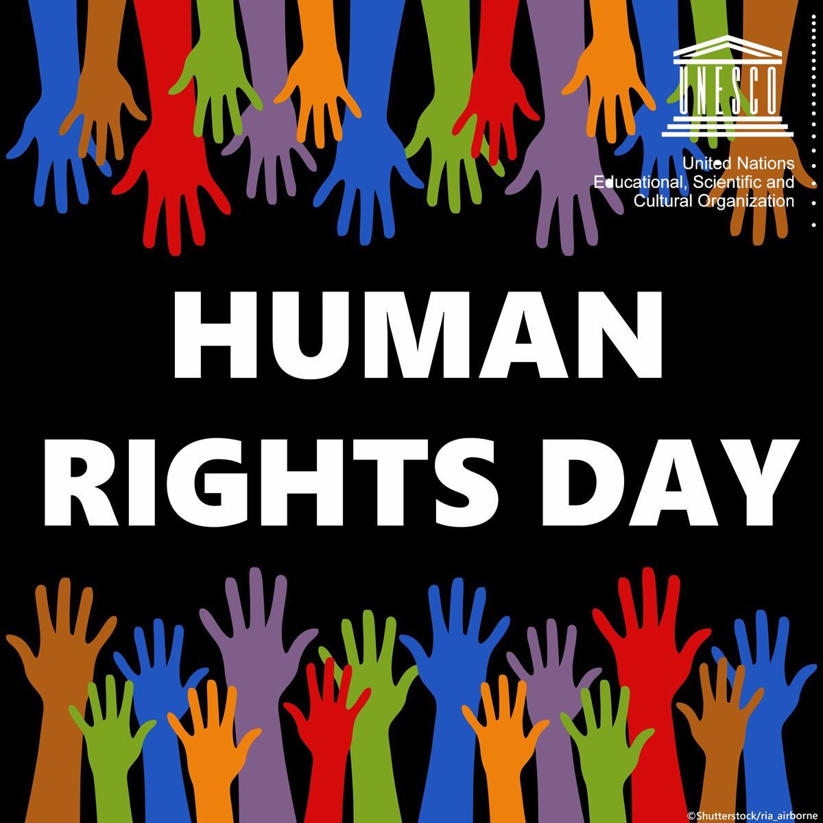 #HumanRightsDay  Standing up for the rights of others means standing up for the humanity we share. @unesco #StandUp4HumanRights 