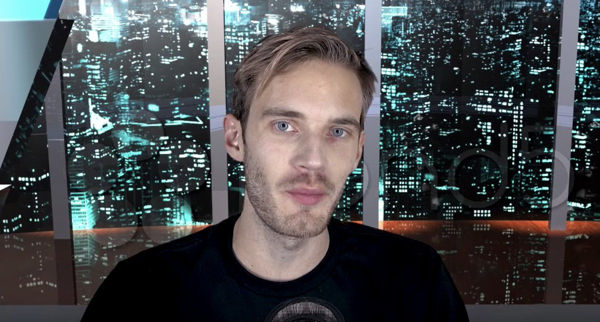 PewDiePie gives shout out to hateful, anti-Semitic YouTube channel https://t.co/YNvVg9sPWj
