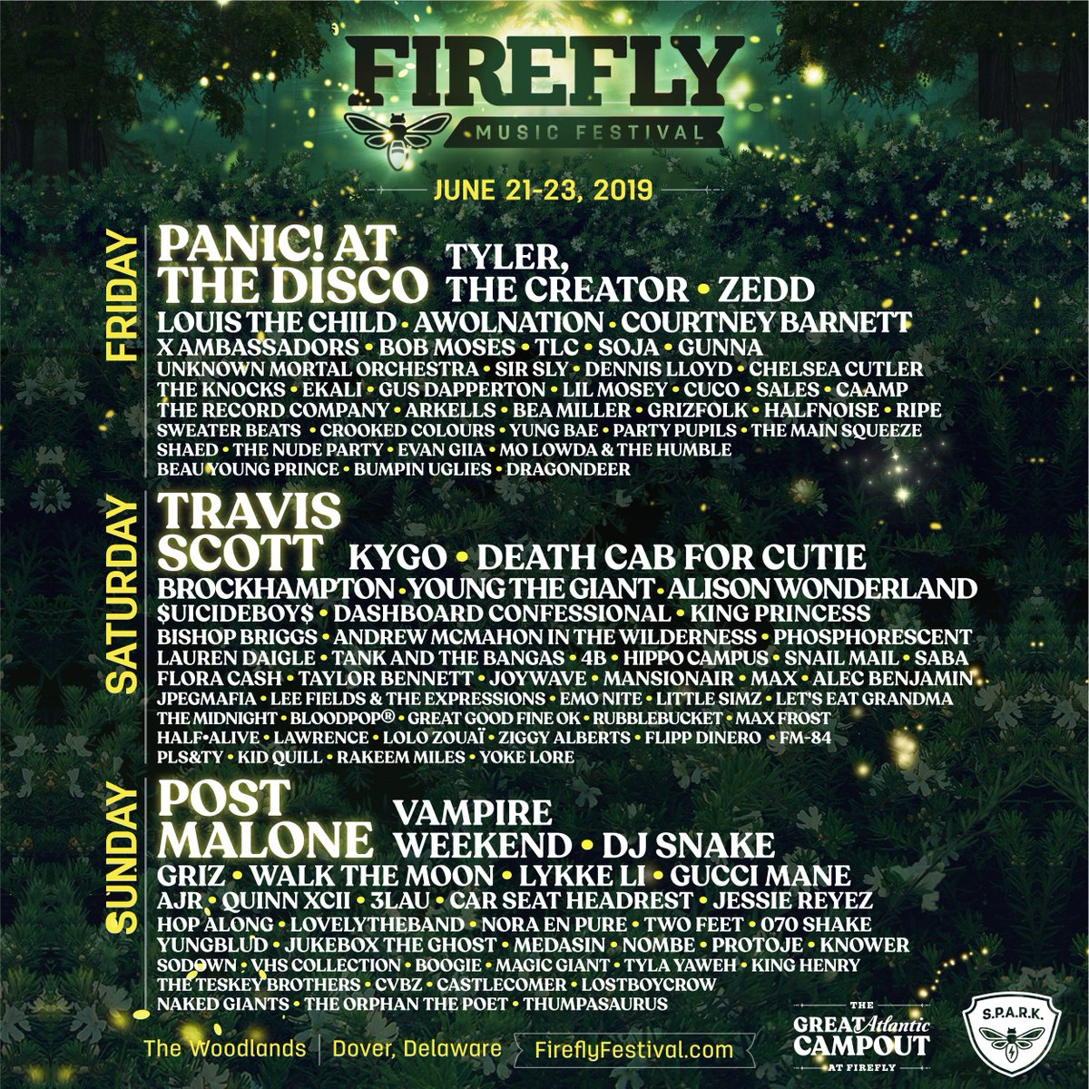 RV And Hotel Options Go On Sale Friday At 12 Noon Eastern FireflyFestival Pictwitter UPr6y3jdWh