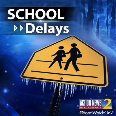 Atlanta Public Schools delayed, Floyd County schools closed tomorrow because of unsafe road conditions.   We continue our LIVE Team 2 Coverage on Channel 2 Action News at 5. https://t.co/72Dl8ntkru