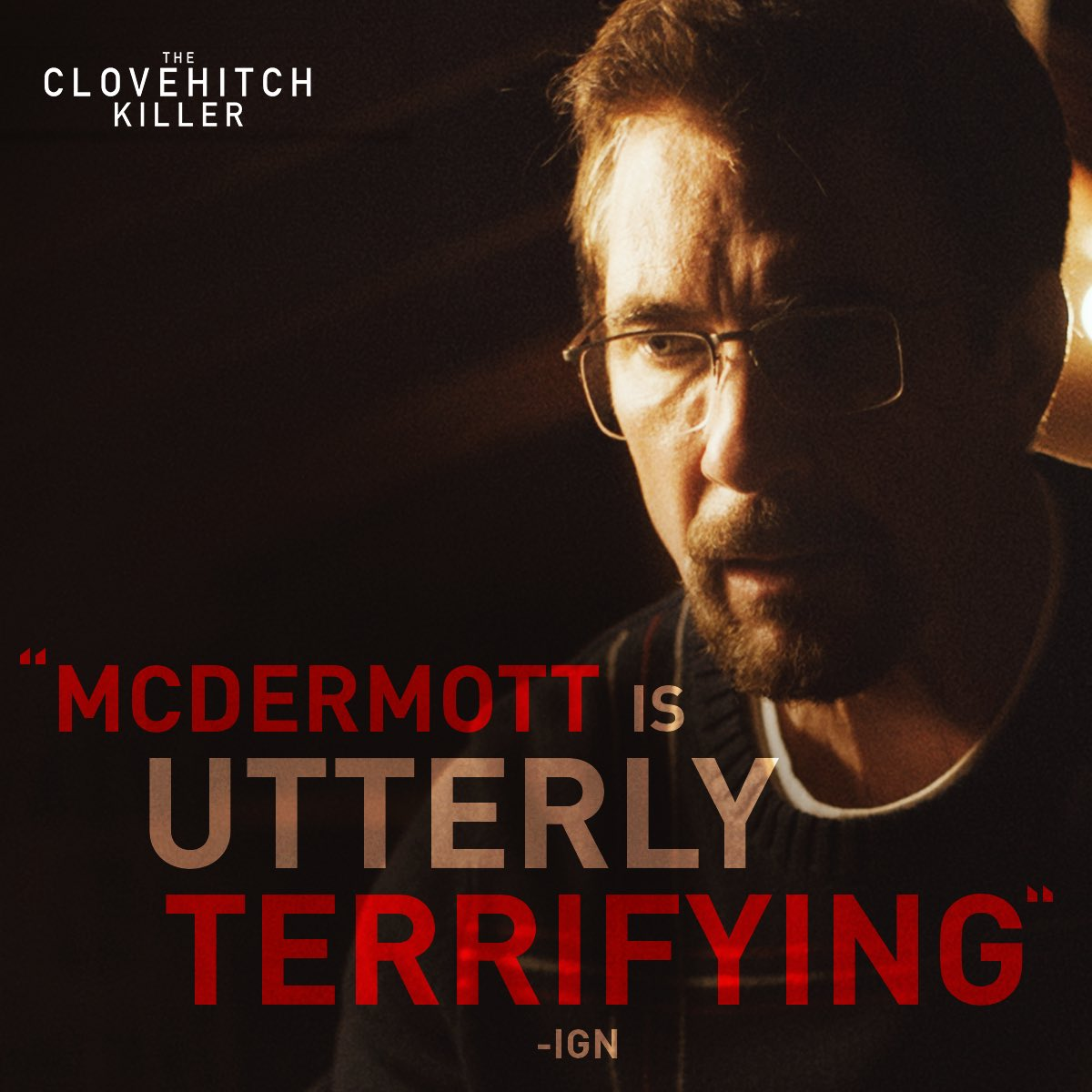 The stellar performance from @DylanMcDermott as #TheClovehitchKiller can't be missed! See it today On Demand.