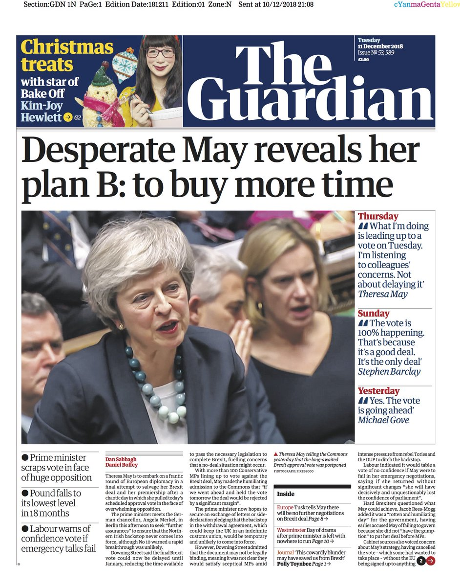 'What fresh Brexit hell is this?': what the papers say ...