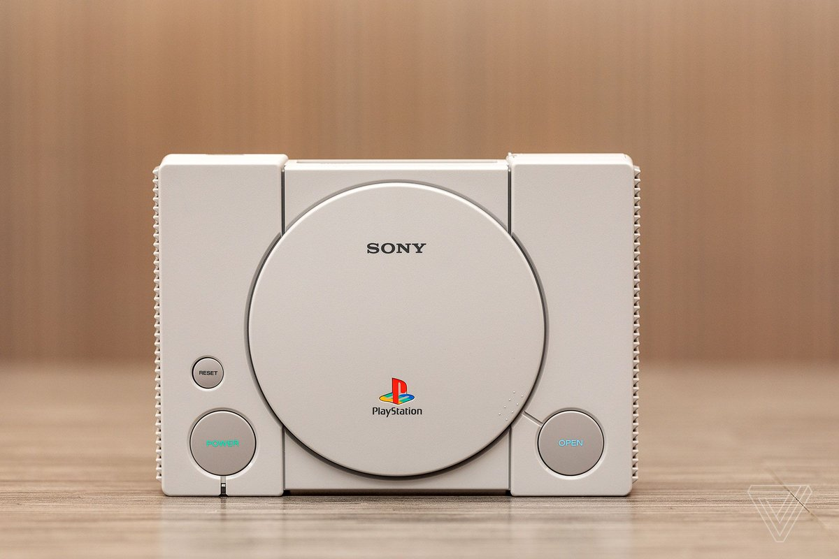 The PlayStation Classic has already been hacked to run games off a USB drive https://t.co/vJvCboesBi