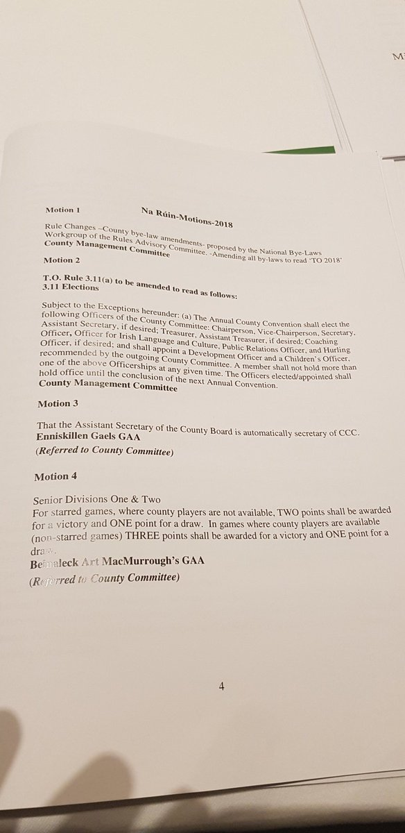 test Twitter Media - Motions 3, 4, 5 & 6 will go to the January County Board meeting https://t.co/5Jd9qJ6oW8
