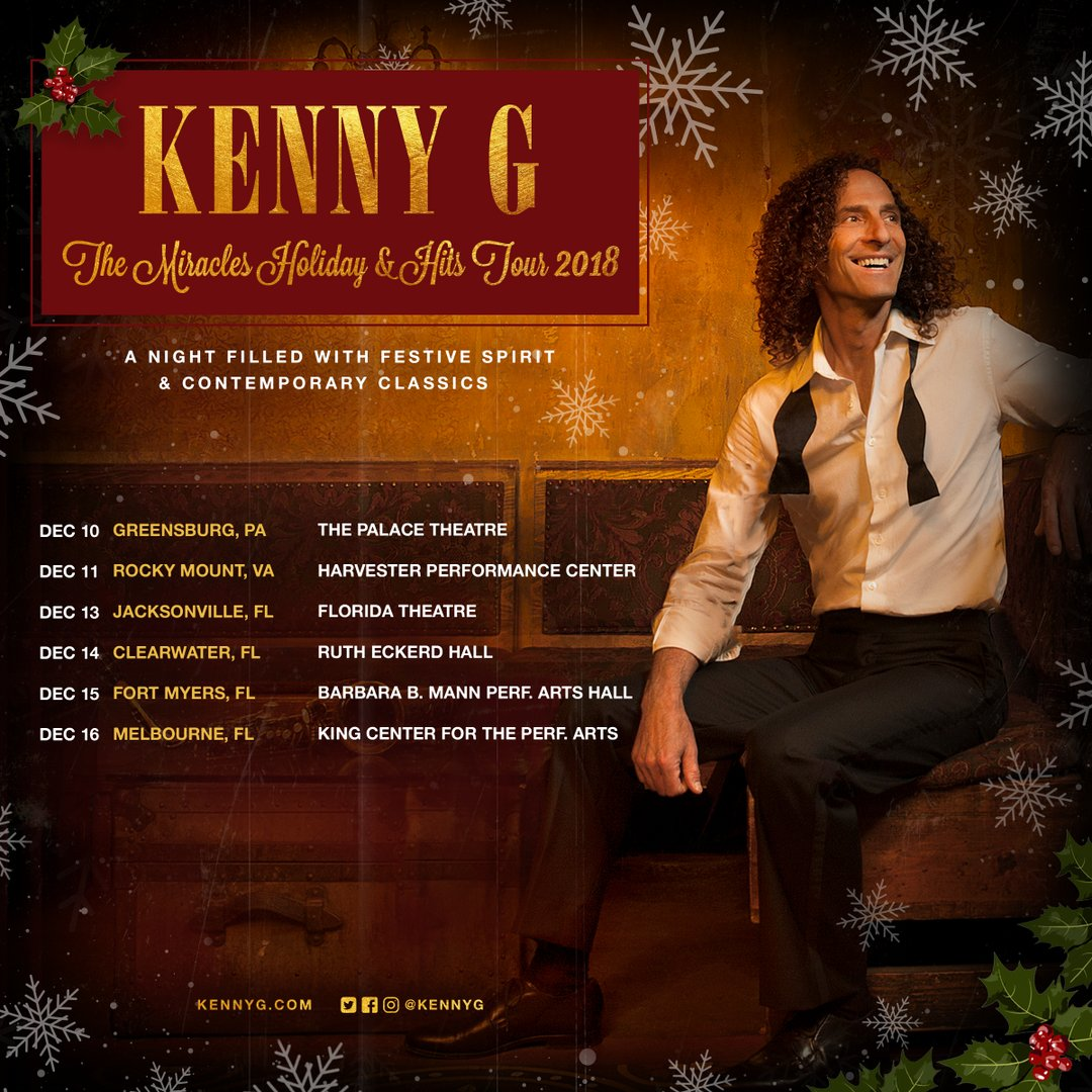 Playing a LOT of shows this week! Grab a ticket now at kennyg.com/events