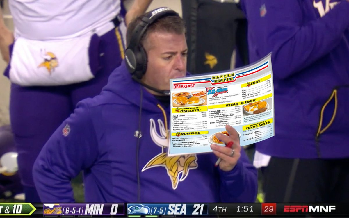 """What's wrong with the Vikings playcalling?"""