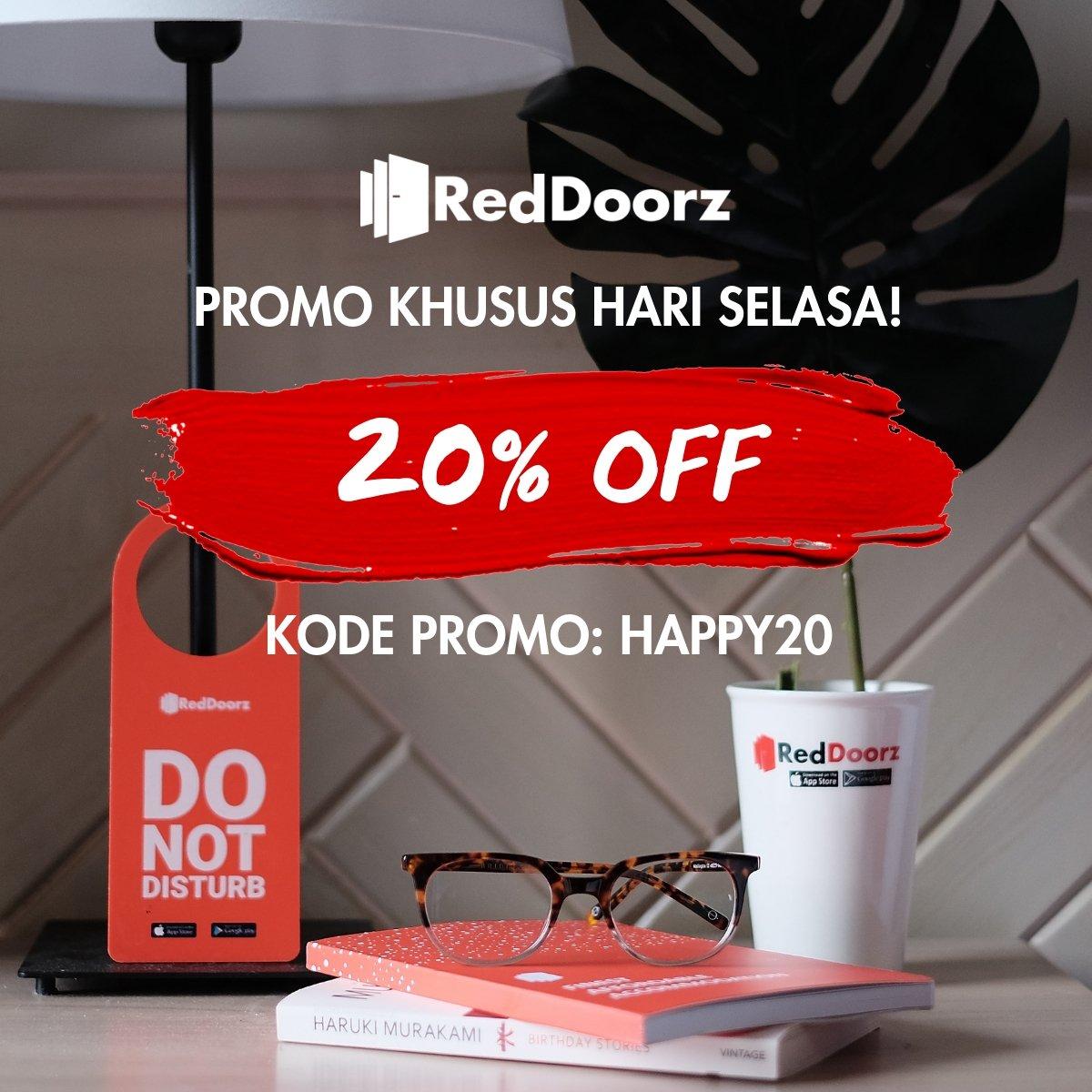Reddoorz Indonesia On Twitter Bukareddoorz Hari Ini Untuk Penginapan Di Antara Tanggal 11 20 Desember Dan Dapatkan Diskon 20 Dengan Kode Promo Happy20 Tunggu Apalagi Kuy Book Sekarang Di Reddoorz App Dan