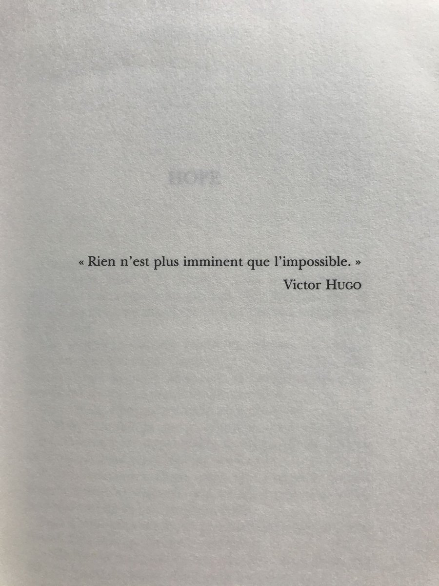 Citations On Twitter Croire En L Impossible Victor Hugo Citation