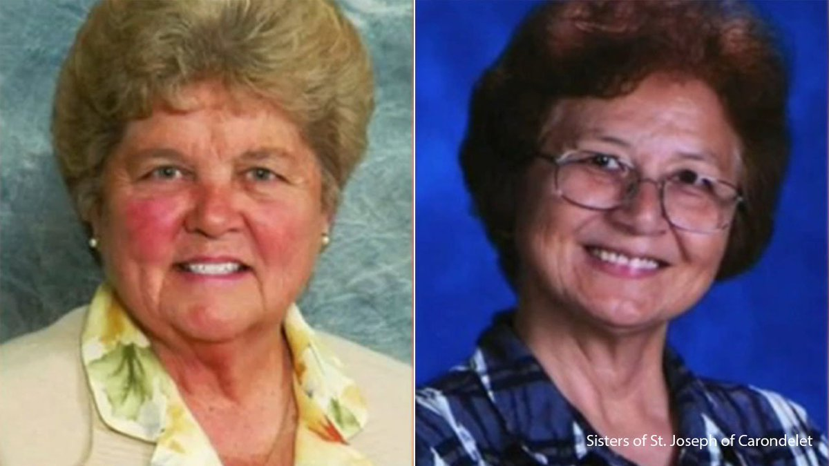 2 nuns accused of embezzling $500K from Torrance Catholic school, spending it on gambling, travel abc7.la/2rvLCUs