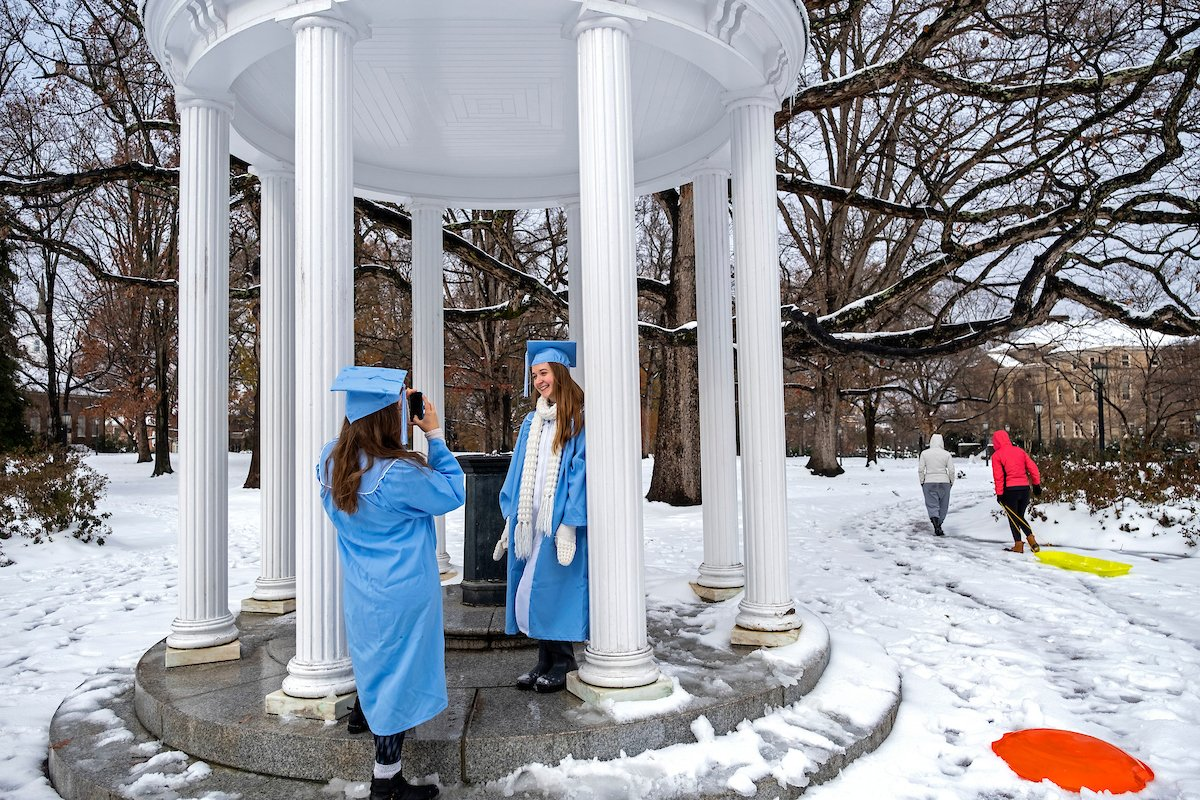 These #UNC snow scenes will surely make you feel warm and fuzzy! ❄️🐏 https://t.co/FXCbDAFAU8
