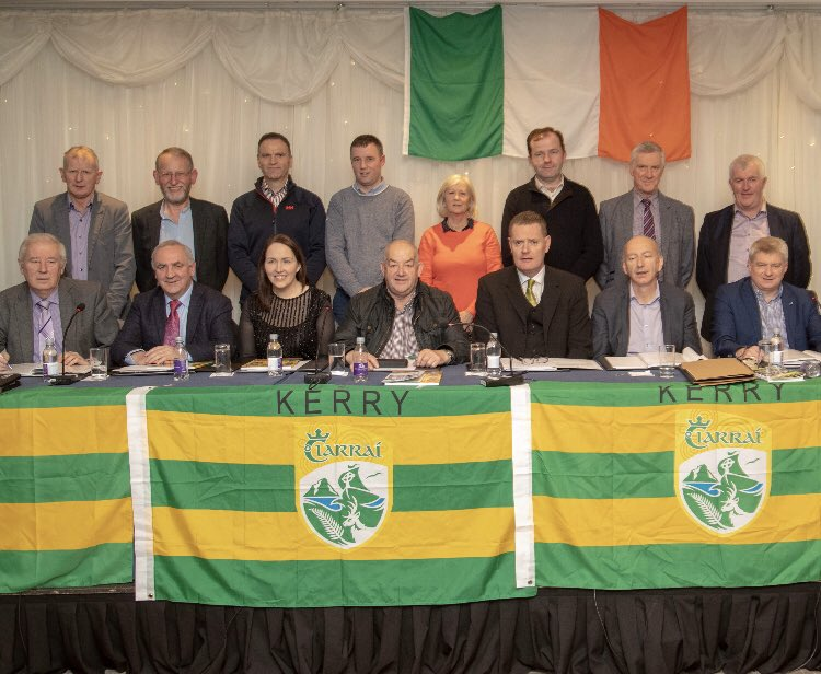 test Twitter Media - The 2018 Kerry GAA Executive. Goodbye @WeeshieLynch - you'll be missed. An Excellent Treasurer and a Wonderful Colleague. Photo courtesy of @BarryDonal https://t.co/HcEiHPyoDk