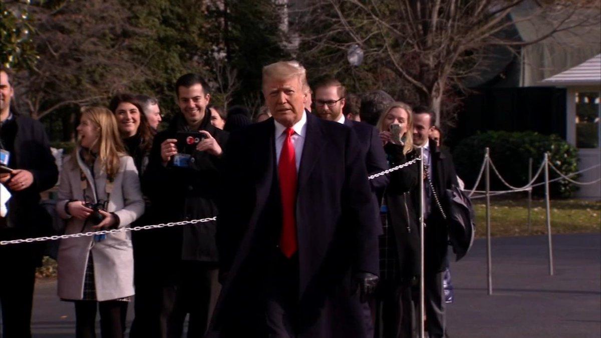 Top House Democrats raise prospect of impeachment, jail for President Trump abc7.la/2PtXMGR